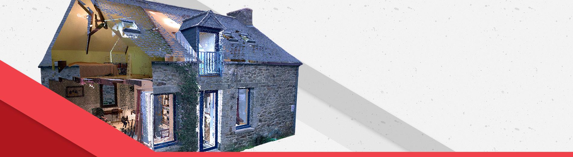 Numérisation 3D Maison