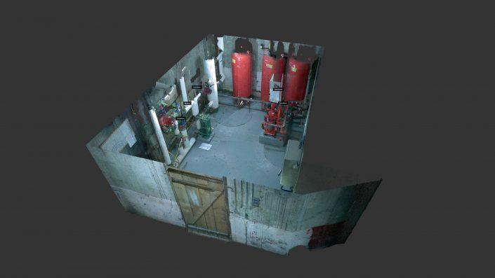 Numérisation 3D d'une sous-station