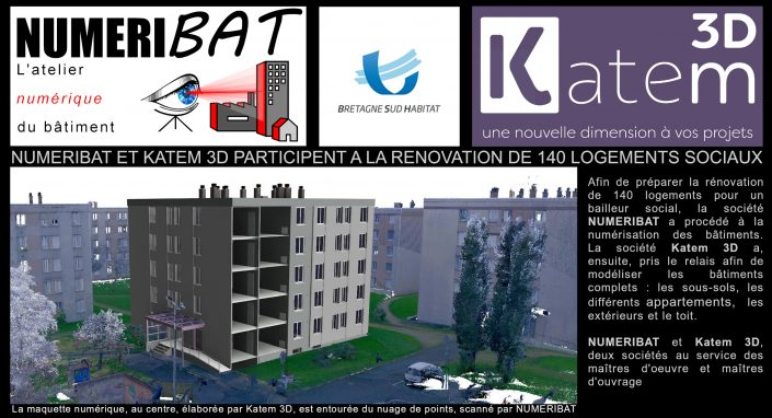 Rénovation de logements sociaux