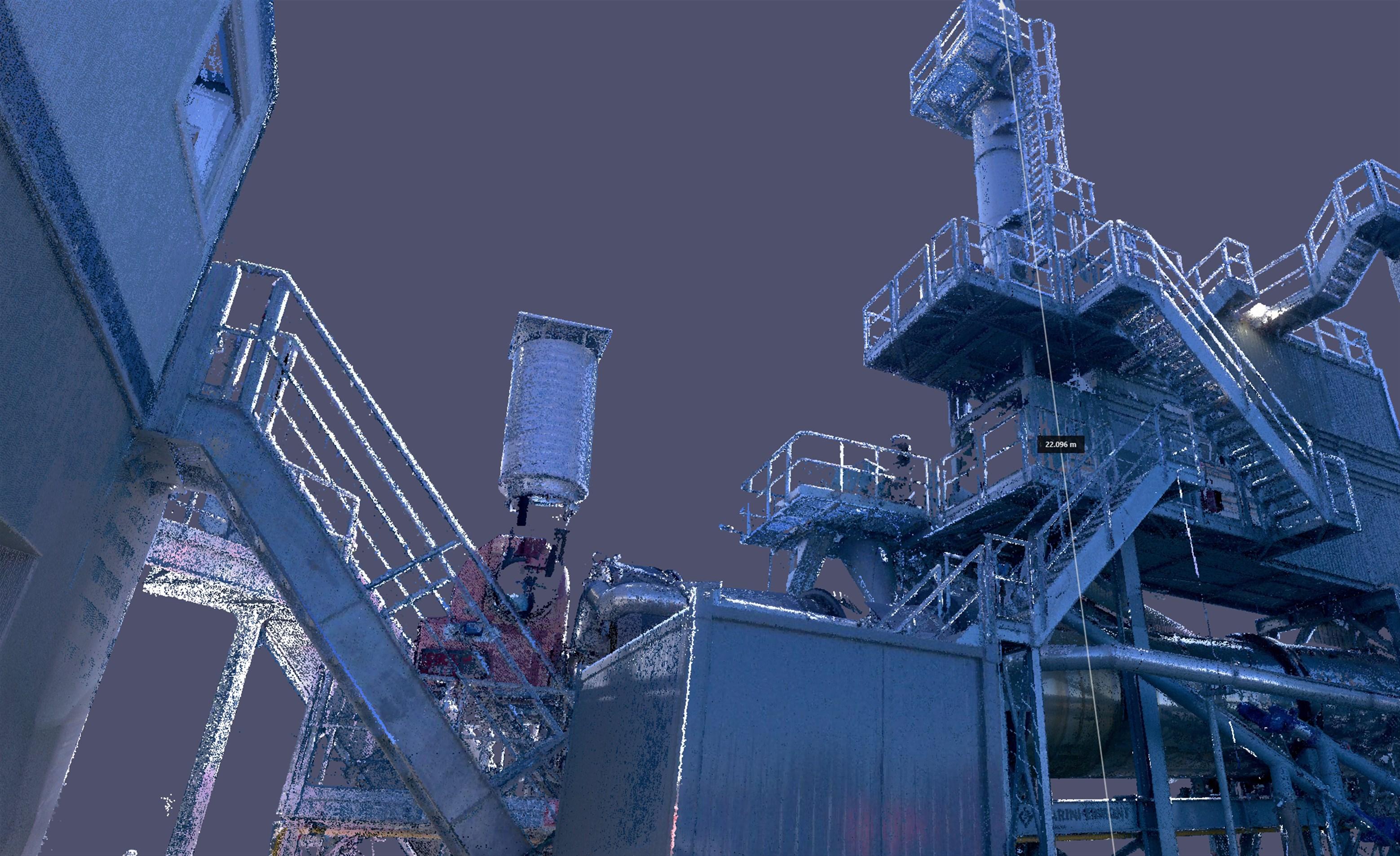 Scan d'une centrale à béton et d'une centrale à enrobé