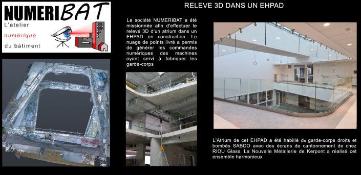 Fabrication de rambardes et de garde-corps à partir d'un relevé scanner 3D